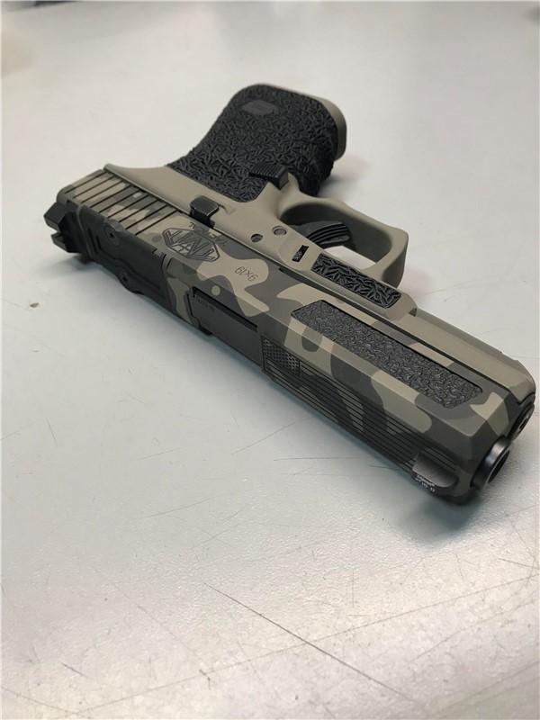 FDE Camo Glock 19 GEN 4