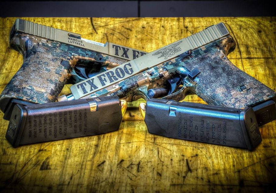 Custom handguns for Marcus Luttrell