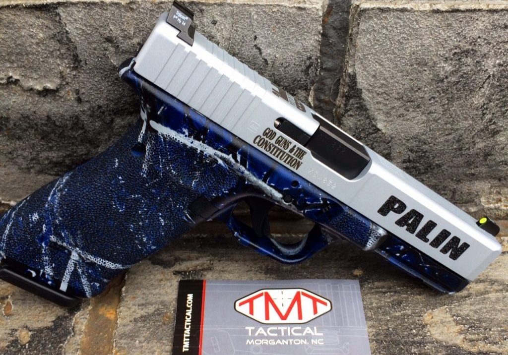 Sarah Palin Custom Handgun 01